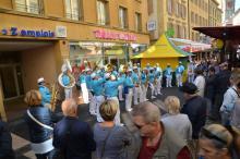 Concert dans les rue de Neuchâtel